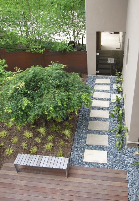 Grass Terraces contemporary-garden
