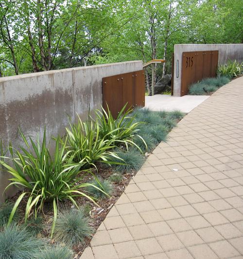 Grass Terraces contemporary landscape