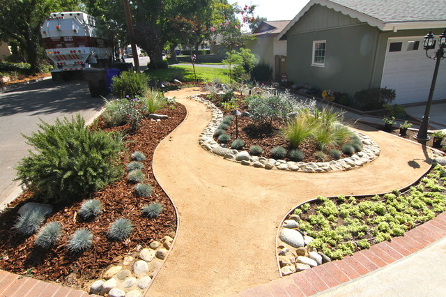 Grassless - Modern - Landscape - los angeles - by Dattola ... on Grassless Garden Ideas id=41965