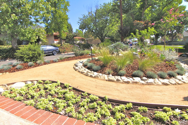 Grassless - Modern - Landscape - los angeles - by Dattola ... on Grassless Garden Ideas id=93306