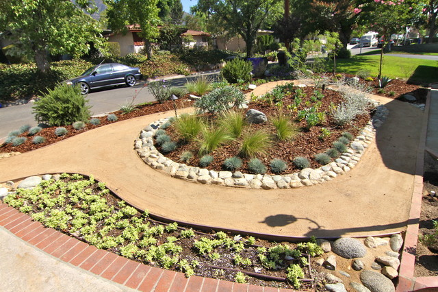 Grassless - Modern - Landscape - Los Angeles - by Dattola ... on Grassless Garden Ideas id=14118