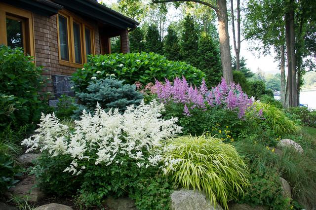Gravel Garden No Lawn Landscape Craftsman
