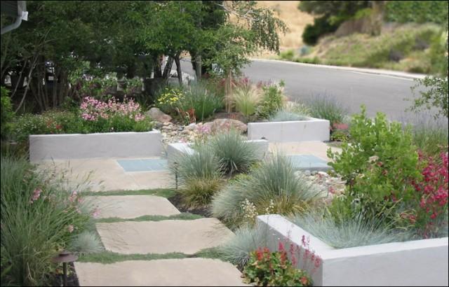 Green contemporary-landscape