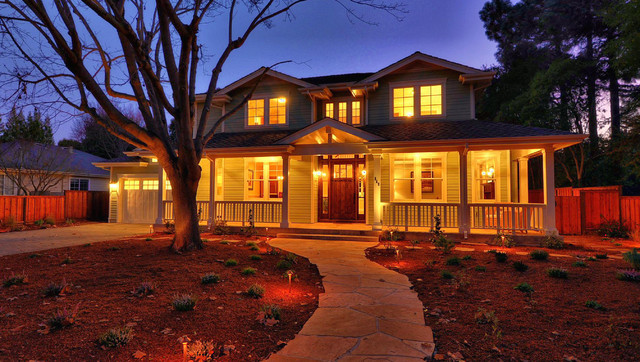 Green Point Rated in Los Altos traditional-exterior