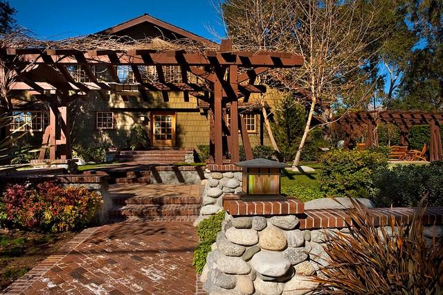Greene And Greene, Claremont, CA Craftsman Garden
