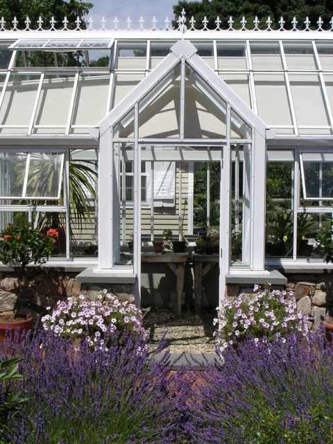 Greenhouse and cutting garden country garden boston for Garden design kerry