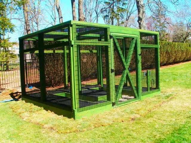 Greenwich CT Residential #3   Completely Enclosed Garden System Traditional  Garden
