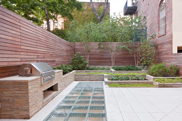 Greenwich Village Townhouse modern landscape