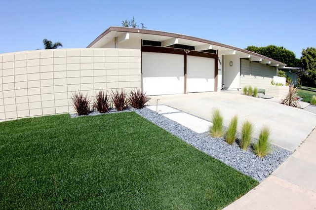 Grounded Modern Landscape Architecture Midcentury