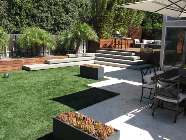 Grounded modern landscape architecture contemporary for Modern backyard landscaping