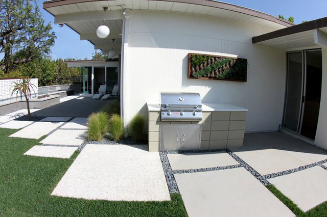 Grounded - Modern Landscape Architecture midcentury