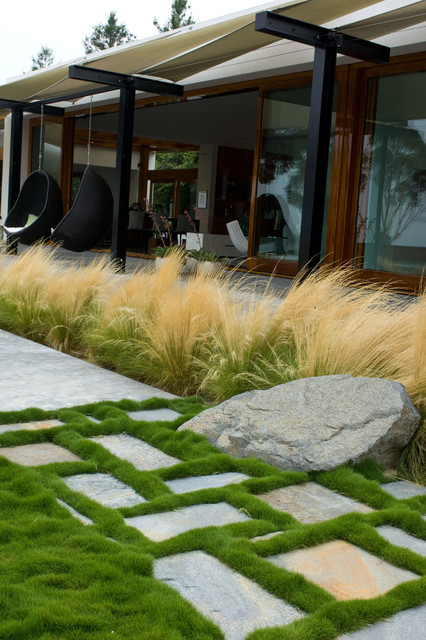 grounded modern landscape architecture contemporary ForHouzz Landscape Architects