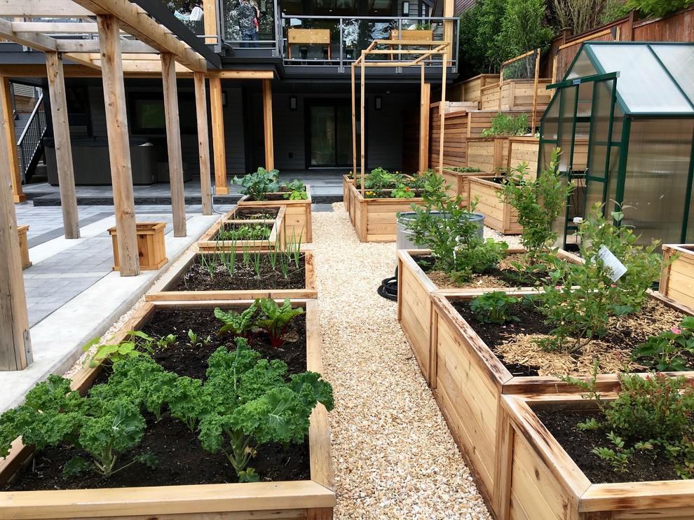 Grow zone vegetable garden in action - Modern - Landscape ...