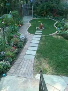 Guitar Garden eclectic landscape