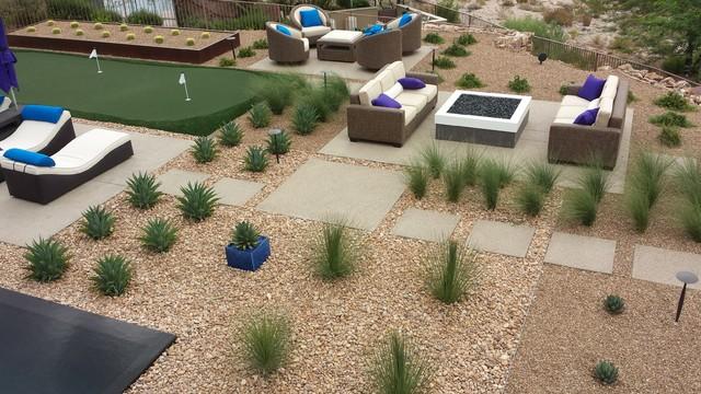 H Vegas Residence - Modern - Landscape - Las Vegas - by ...