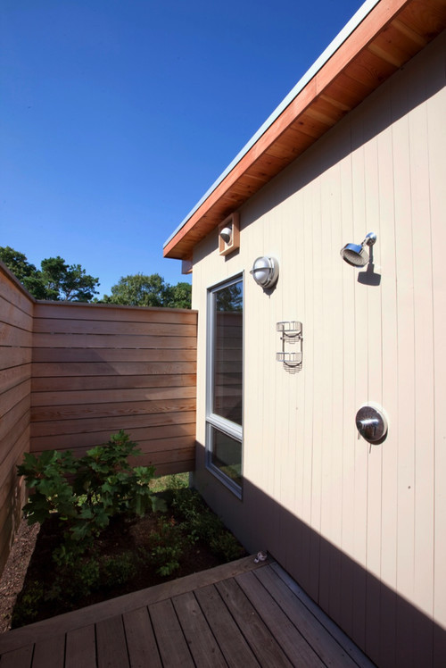 modern landscape Hammer Architects: Modern Cape Cod Addition/Wellfleet