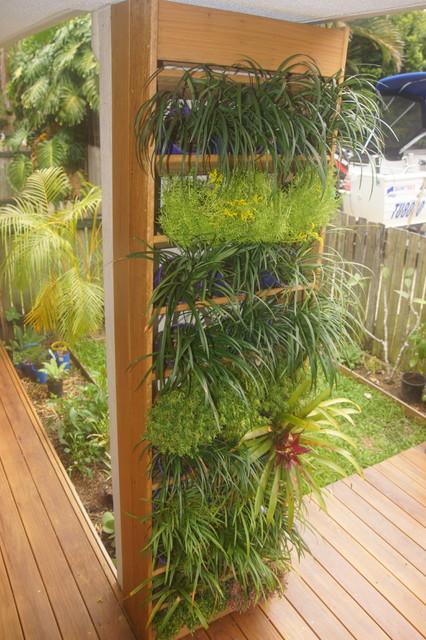 H G Vertical Gardens Modern Landscape Brisbane By