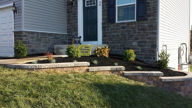 Hanover Front Yard Ideas Nicolock Retaining Wall Transitional Landscape