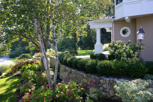 Harbor view traditional garden boston by amy for Houzz landscape architects