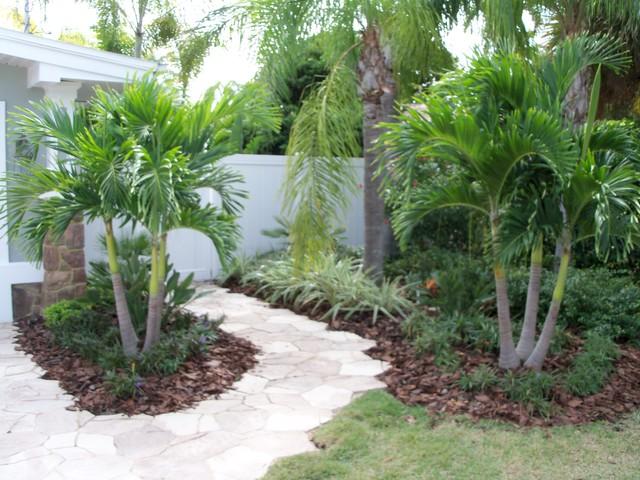 Hardscape driveways patios retaining walls Tropical