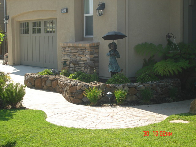 Hardscape Projects traditional landscape
