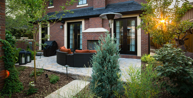 Hardscapes in Small Spaces - Contemporary - Landscape - denver - by ...