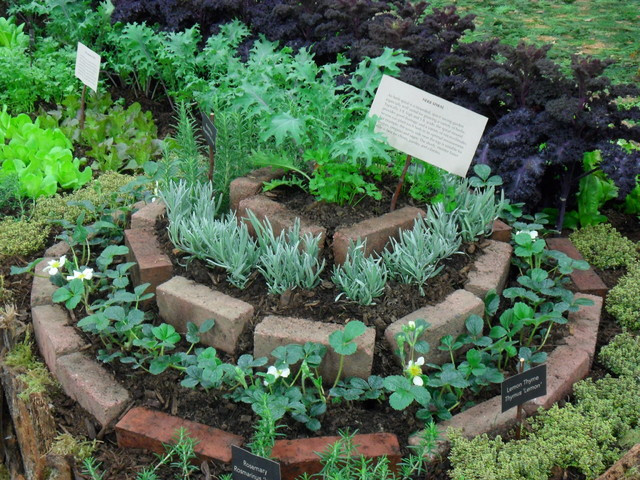 Herb Spiral - Eclectic - Landscape - portland - by Plan-it Earth Design
