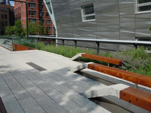 High Line modern-landscape