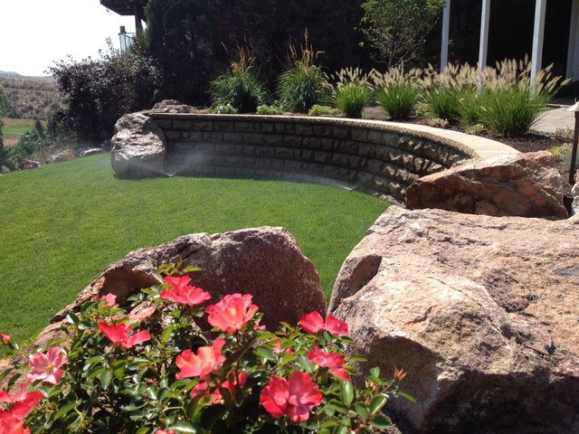 Highlands Residence, Boise Id traditional-landscape