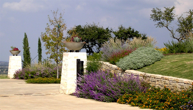 Hill Country Ranch mediterranean-landscape