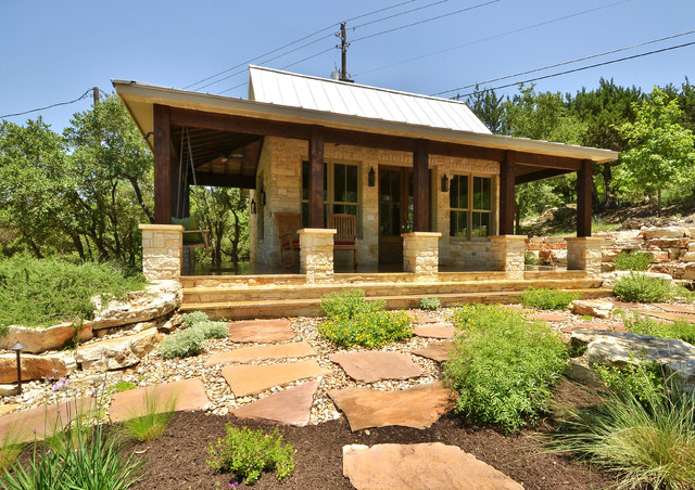 Hill Country Rustic Elegance Rustic Landscape Austin