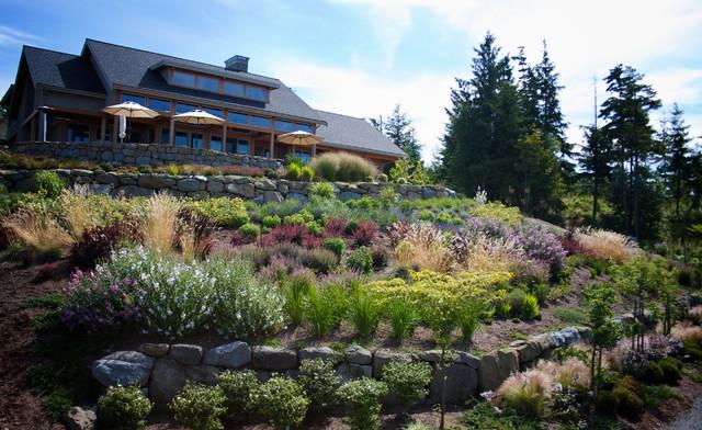 Hillside garden contemporary landscape seattle by for Garden design hillside