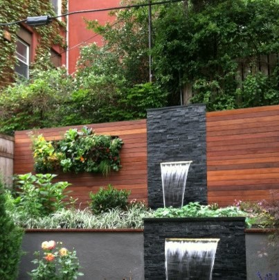 Hoboken terrace garden contemporary landscape new for Terrace garden design