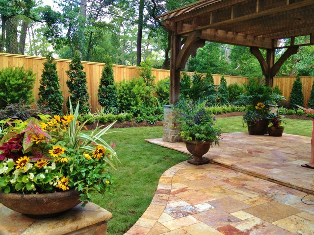 Home and garden design magazine top 100 designers for Outside ideas landscaping