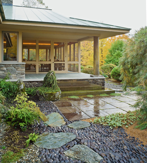 Asian Landscape by Burlington Landscape Architects & Landscape Designers Cynthia Knauf Landscape Design Inc