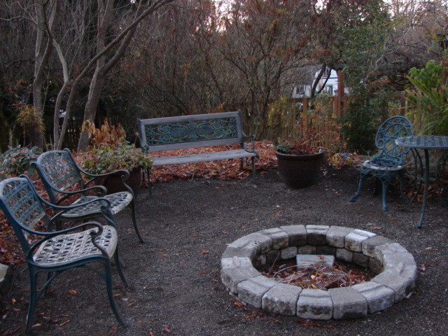 Mulch Entire Backyard : borealis landscape design landscape contractors