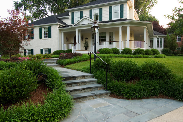 Home on a Corner Lot - transitional - landscape - dc metro - by ...