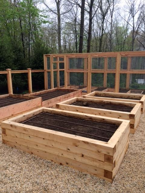 Homefront Farmers Cedar Raised Beds Landscape New York