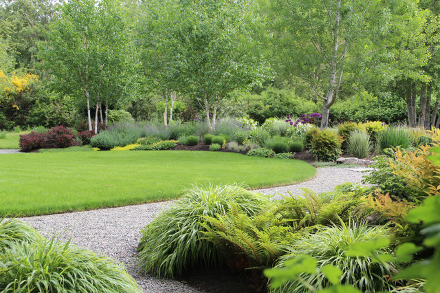 Hopkins-Rees, Bainbridge Island, Wa - Traditional - Landscape