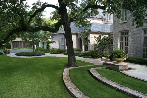 Houston Casual Landscape traditional landscape