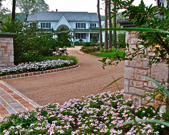 Pea Gravel Landscaping Ideas : Pea Gravel Driveway Design Ideas, Pictures, Remodel and Decor