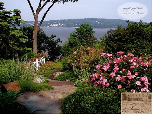 Hudson River View Garden traditional landscape