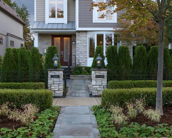Front yard fences home design ideas pictures remodel and for Front yard renovation ideas