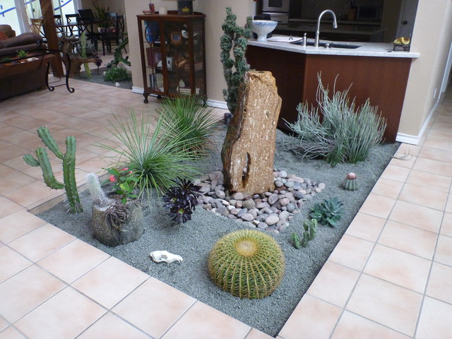 Indoor Cactus Garden Indoor cactus atrium mediterranean landscape houston by indoor cactus atrium mediterranean landscape workwithnaturefo