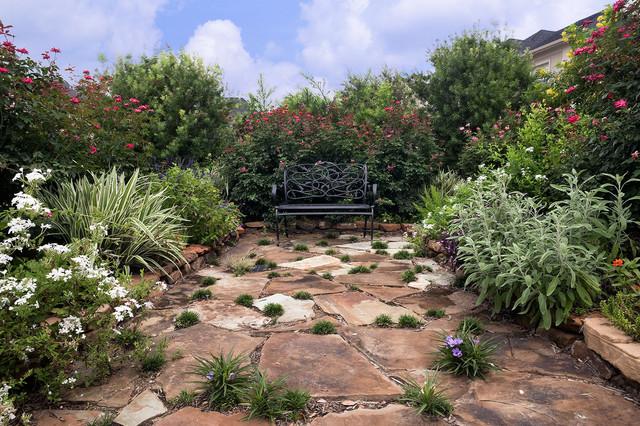 Informal front yard garden eclectic landscape for Informal garden designs