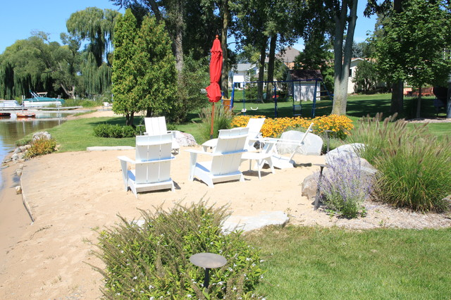 Inland beach beach style landscape grand rapids by for Beach landscape design