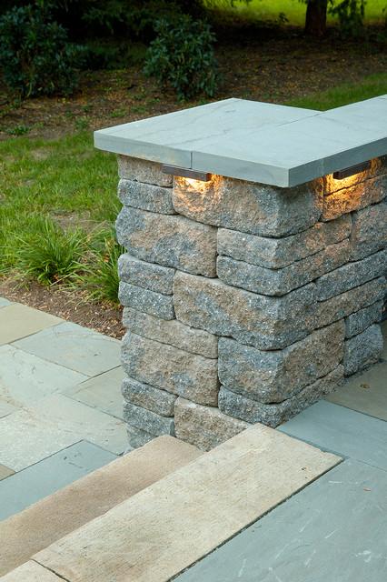Integral lighting landscape philadelphia by integral for Landscape pillar lighting
