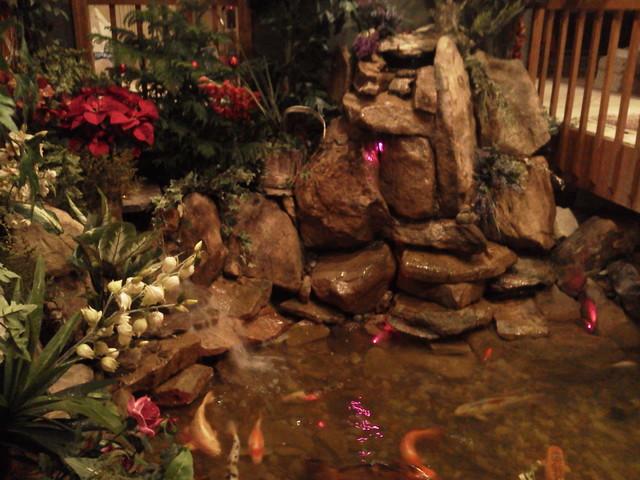 interior landscape, decorating, lighting, fountain eclectic-landscape