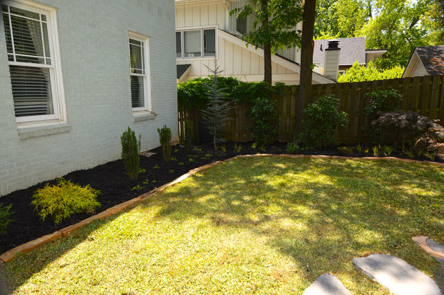 Intown Makeover traditional-landscape