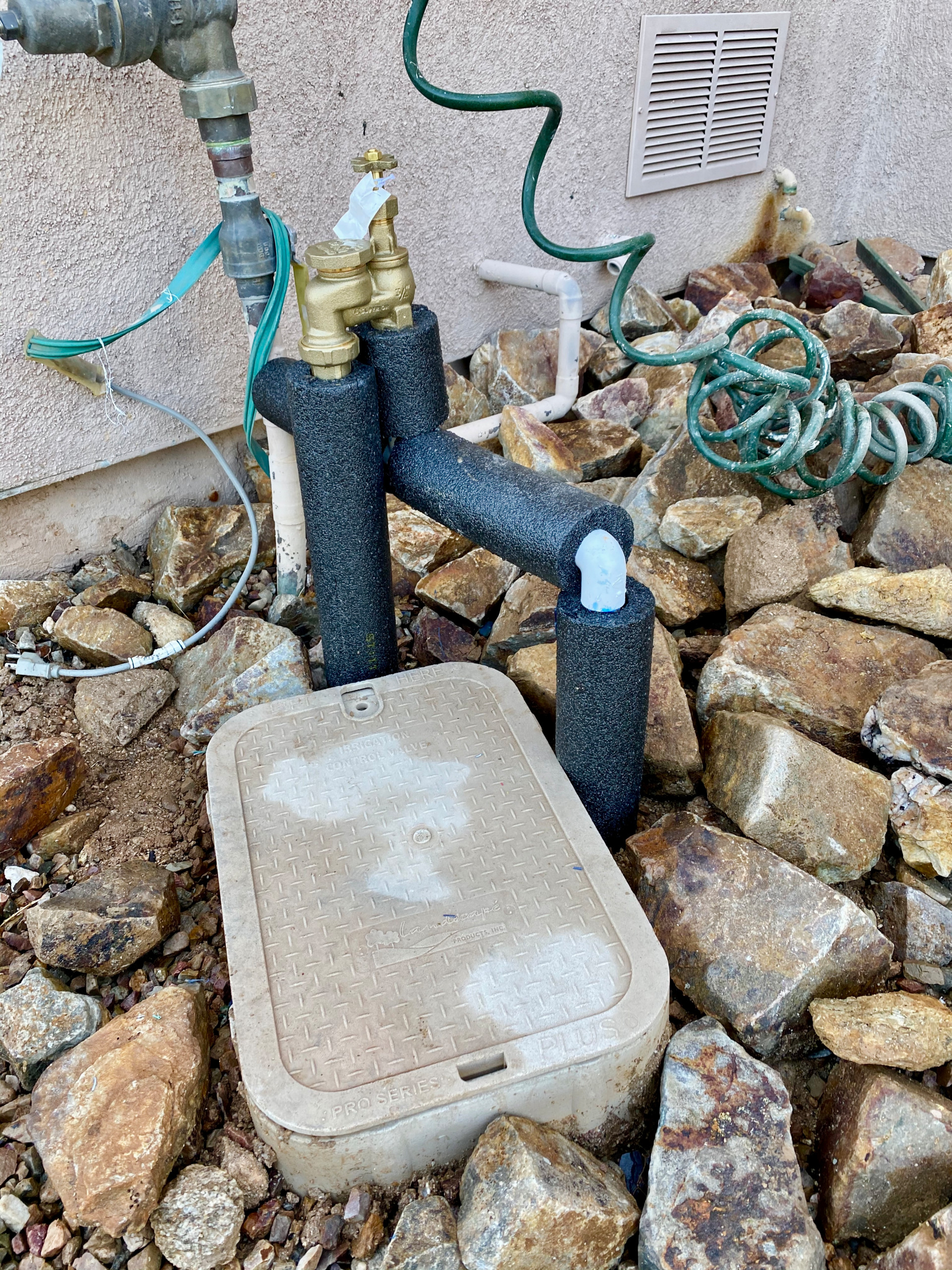 Irrigation replace and installation